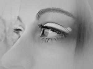 Глаза...